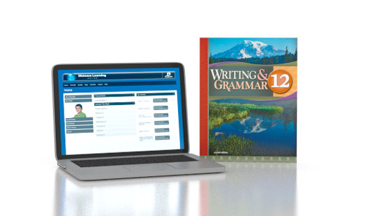 Writing & Grammar 12 Online with Books (2nd ed.)