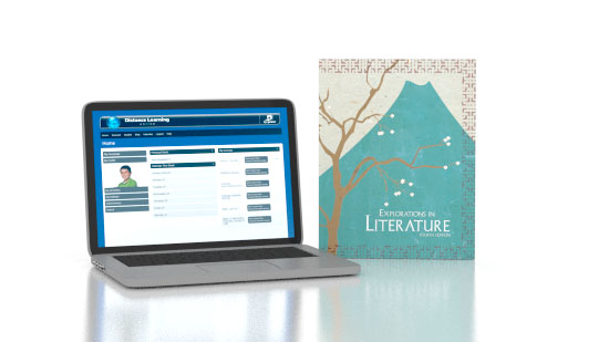 Explorations in Literature Online with Books (4th ed.)