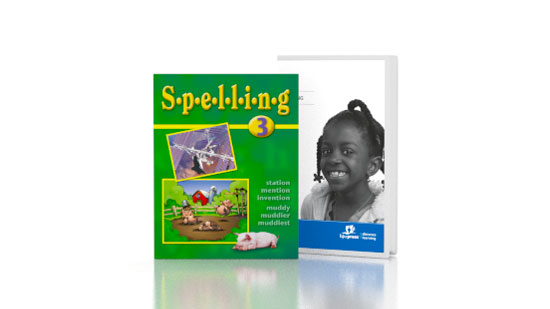 Spelling 3 DVD with Books (updated 1st ed.)