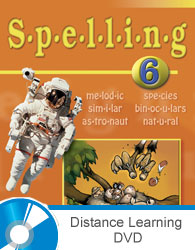 Spelling 6 DVD with Books (updated 1st ed.)