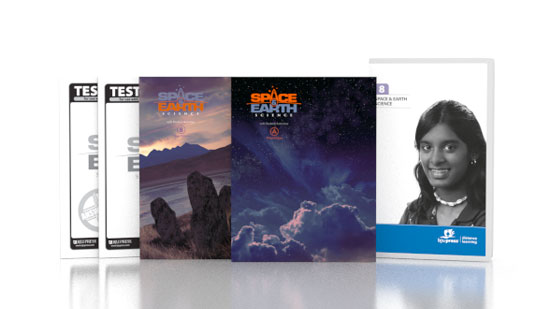 Space & Earth Science DVD with Books (3rd ed.)