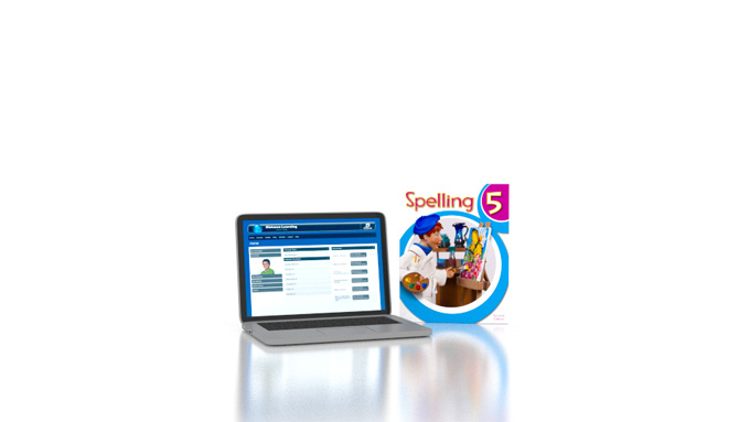 Spelling 5 Online with Books (2nd ed.)