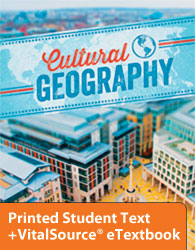 Cultural Geography eTextbook & Printed ST (4th ed.)