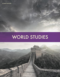 World Studies, 4th ed. by BJU Press (textbook cover image)