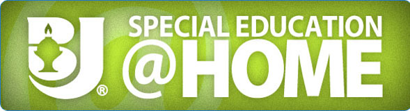 Special Education at Home