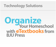 learn about eTextbooks from BJU Press