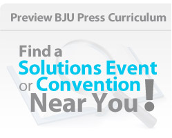 Find a Solutions Event or Homeschool Convention near you!