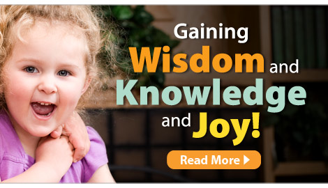 gaining wisdom and knowledge and joy