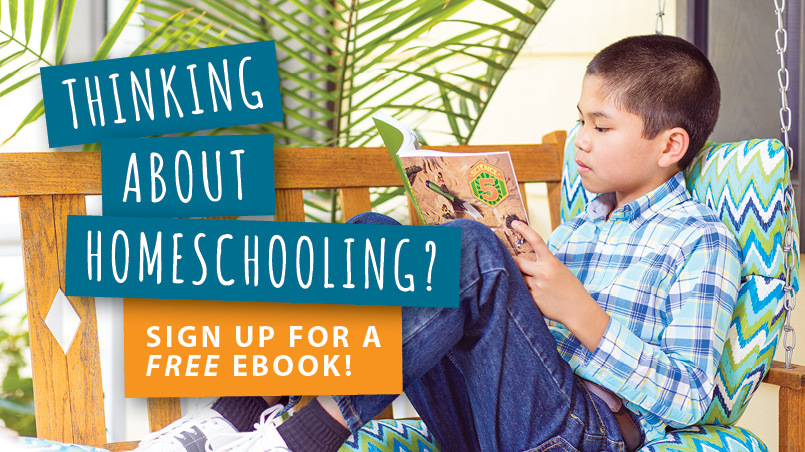 Thinking about homeschooling? Sign up for a FREE ebook!