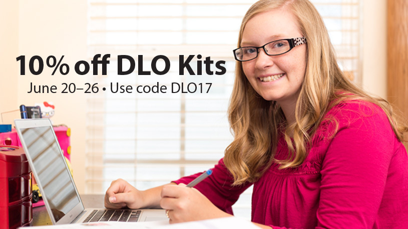Distance Learning Online Sale! 10% off sitewide June 20-26. Promo code DLO17