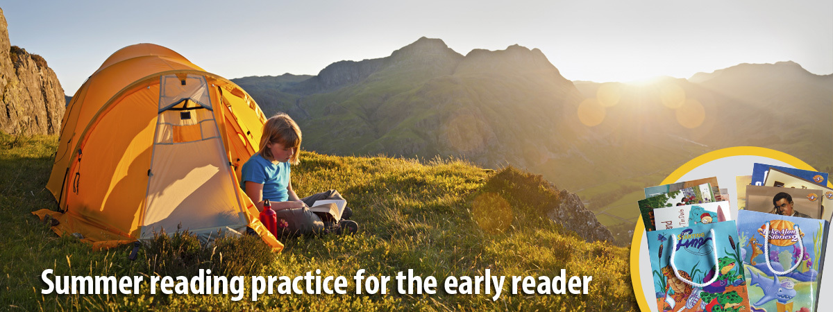 Summer reading practice for the early reader