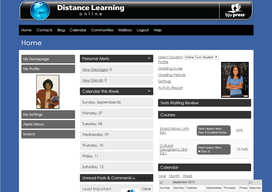 About Distance Learning Online | Homeschool