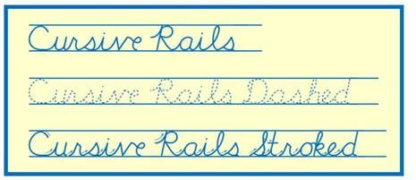 Cursive Rails samples