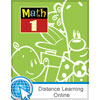 Math 1 Online with Books
