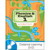 Phonics, Reading, & Handwriting 1 DVD with Books (3rd ed.)