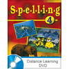 Spelling 4 DVD with Books (updated 1st ed.)