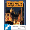 French 3 DVD with Books