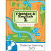 Phonics, Reading, and Handwriting 1 DVD Only