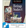 Heritage Studies 4 DVD Only